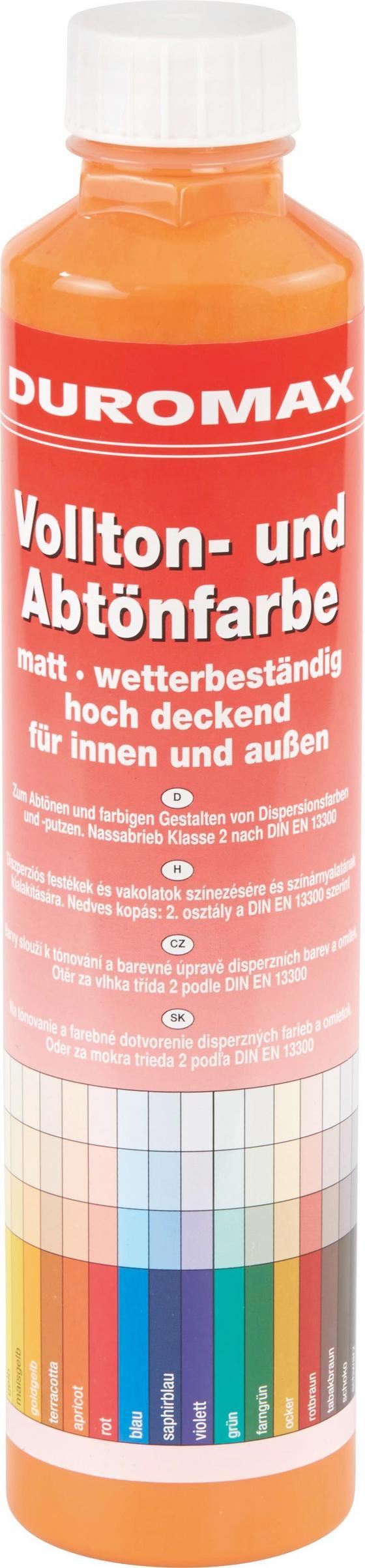 Abtönfarbe Terracotta Matt - Terra cotta, KONVENTIONELL (0,75l)
