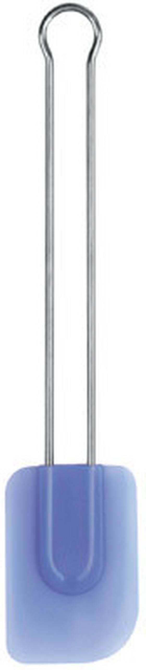 Spatula Szilikon - kék/ezüst színű, konvencionális, műanyag (29cm)
