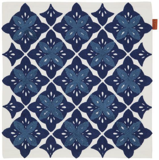 Povlak Na Polštář Mary Stick - modrá, Moderní, textilie (45/45cm) - Mömax modern living