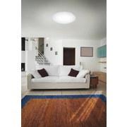 LED-Deckenleuchte Ø 57 cm - Weiß, MODERN, Kunststoff/Metall (57/7,5cm)