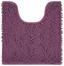 WC-Vorleger Liliane - Lila, KONVENTIONELL, Textil (45/50cm) - Ombra