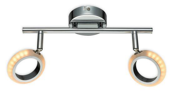 LED-Strahler Avery - Chromfarben, MODERN, Kunststoff/Metall (34cm) - Luca Bessoni