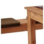 Tischgruppe Paris - Eichefarben, KONVENTIONELL, Holzwerkstoff (137/77/75cm)