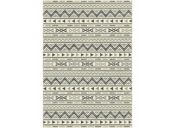 Koberec Tkaný Na Plocho Kelim 1 - černá/světle šedá, Moderní, textil (80/250cm) - Mömax modern living