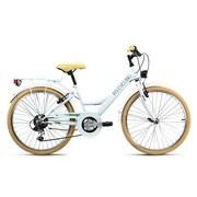 Kinderfahrrad Kinderrad 24'' Toscana 637k - Weiß, Basics, Metall (180/70/80cm)