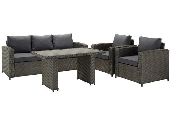 balkonh ngetisch rattan. Black Bedroom Furniture Sets. Home Design Ideas
