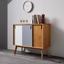 Komoda Maris - farby dubu/biela, Moderný, drevo (88/76/35cm) - Modern Living