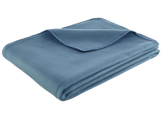 Flaušová Deka Trendix -top- - modrá, textil (130/180cm) - Mömax modern living