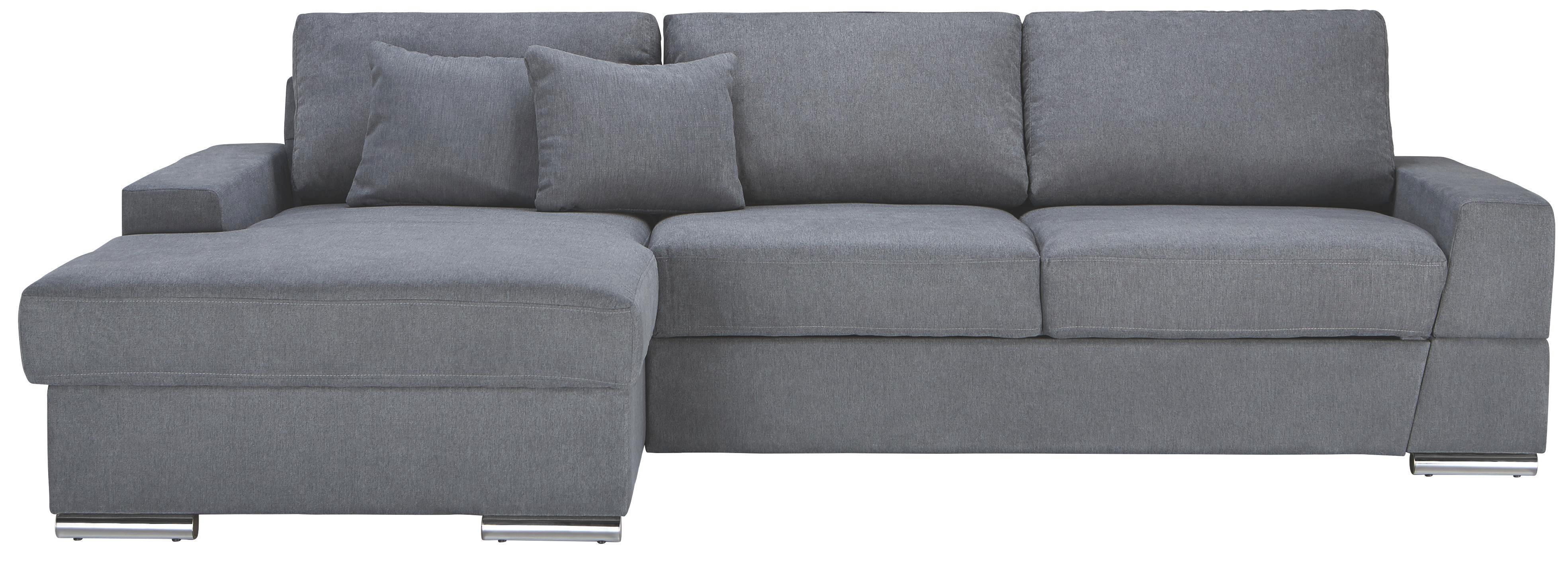 Sedací Souprava Kuba - šedá, Moderní, dřevo/textil (165/88/290cm)