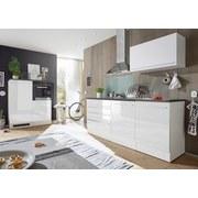Küchenleerblock Welcome Jazz 4 inkl. Blockelement 200cm Weiß - Anthrazit/Weiß, KONVENTIONELL, Holzwerkstoff (200+120/60cm)