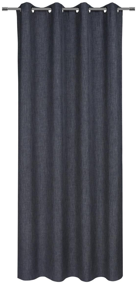 Závěs Hotový Ulli -eö- -ext- - antracitová, textil (140/245cm) - Mömax modern living