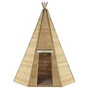 Spielzelt Plum Tipi 330 - Ahornfarben, MODERN, Holz (220/220/330cm)