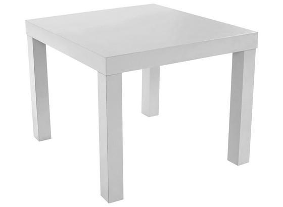 Konferenčný Stolík Nora - biela, Moderný, kompozitné drevo (55/42/55cm)