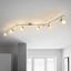 Bodové Svítidlo Bahar - bílá/barvy stříbra, Romantický / Rustikální, kov/umělá hmota (180cm) - Modern Living