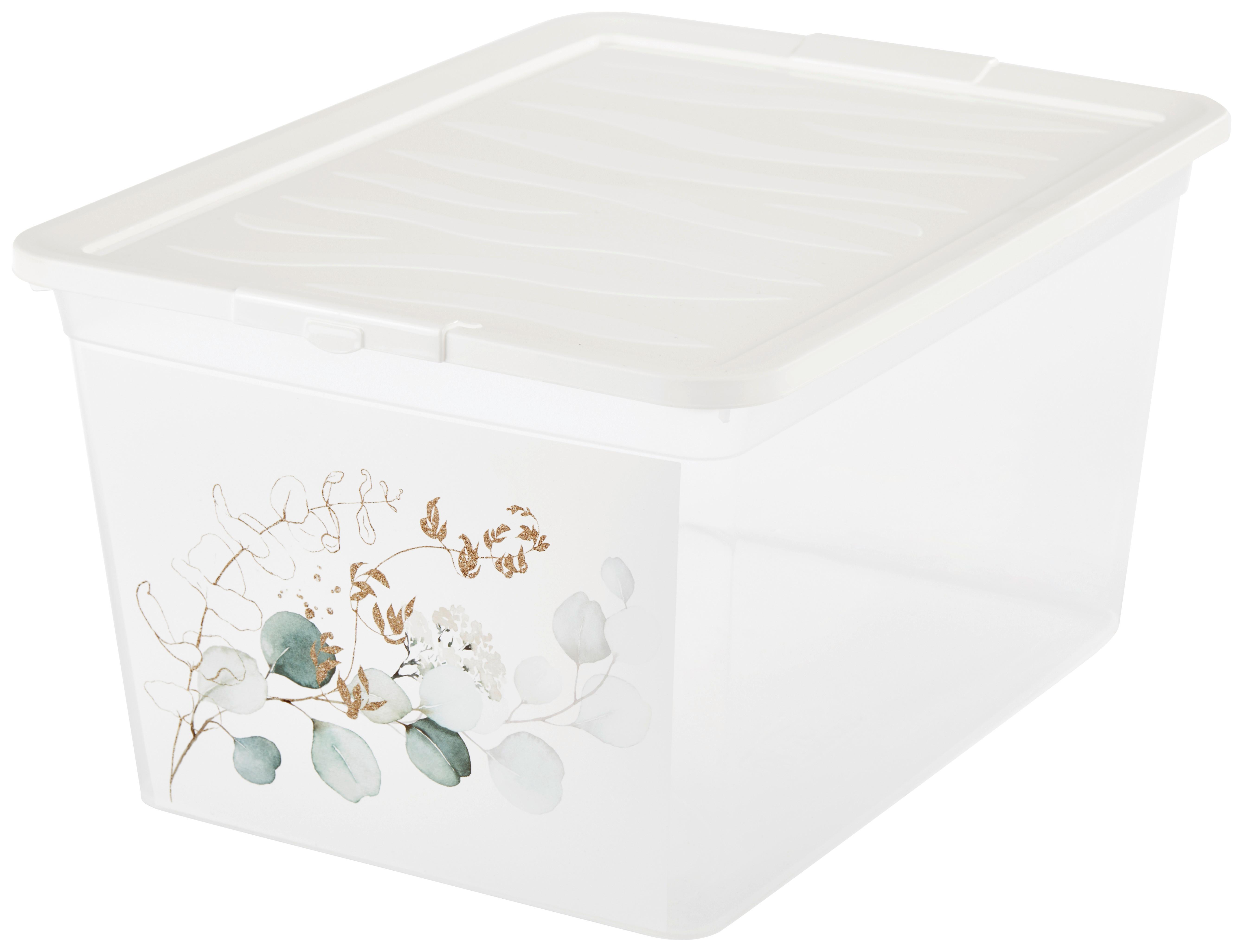 Stapelbare Aufbewahrungsbox Mit Deckel