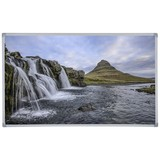 Infrarot Heizung 600 W Waterfall 100x60 cm - Multicolor, Basics, Metall (100/60/2,2cm)