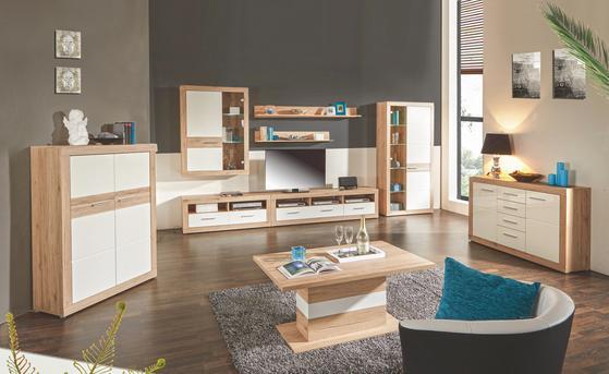 Gemütliche Wohnzimmeraussattung modern