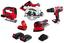 8-teiliges Matrix Werkzeug-Sepzialset 20v - Rot/Schwarz, Kunststoff/Metall - Matrix
