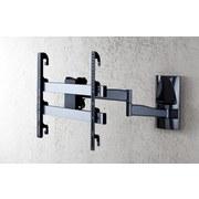 TV-Wandhalter Ws 300 B: 65 cm - Schwarz, KONVENTIONELL, Metall (65/48/67cm)