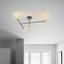 Stropná Lampa Lys - čierna, Štýlový, kov - Modern Living