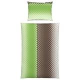 Bettwäsche Zera - Hellgrün, MODERN, Textil - Luca Bessoni