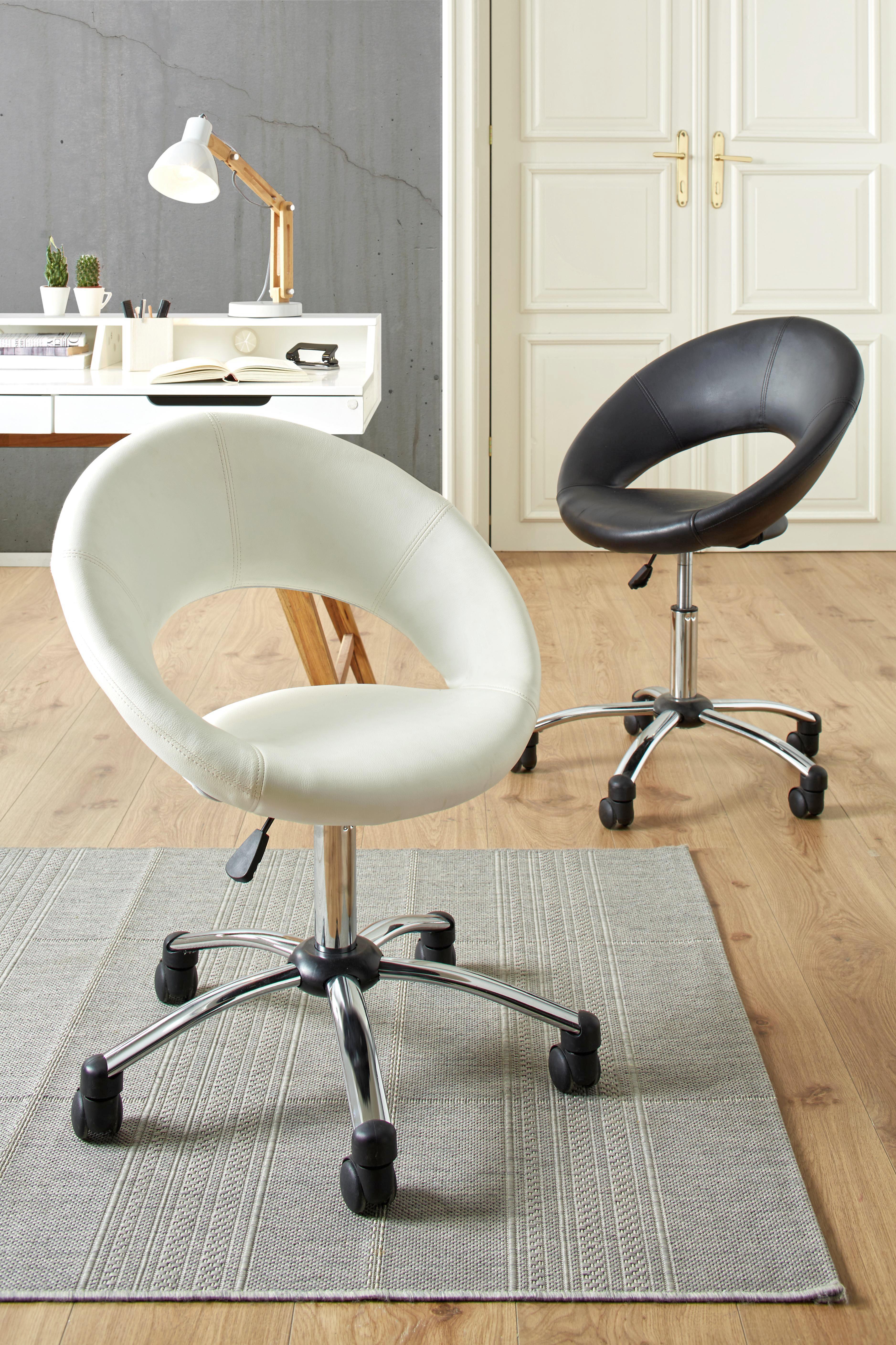 Psací Stůl Durham - bílá/hnědá, Moderní, dřevo/dřevěný materiál (110/85/58cm) - MÖMAX modern living