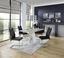 Jídelní Stůl Severin 138 - bílá/šedá, Moderní, dřevěný materiál (138/76/90cm)