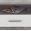 Konferenční Stolek Avensis - šedá/bílá, Moderní, kompozitní dřevo (75/40/75cm) - Luca Bessoni
