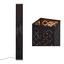 Stojací Svítidlo Elin - černá/barvy zlata, Lifestyle, kov/textil (15/118cm) - Mömax modern living