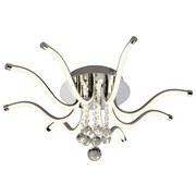 LED-Deckenleuchte Elias - ROMANTIK / LANDHAUS, Glas/Metall (65/16cm) - JAMES WOOD