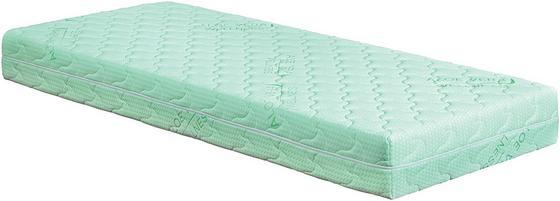 Matrace Viva 1 H2 200x180cm - světle zelená, Konvenční, textil (200/180/18cm)