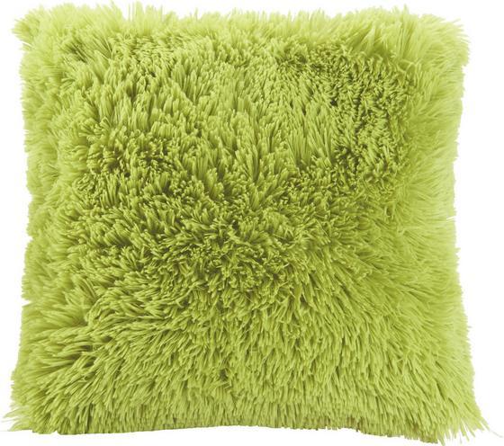 Polštář Ozdobný Fluffy In Rosa, Ca. 45x45cm - světle zelená, textil (45/45cm) - Mömax modern living