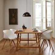 Jídelní Stůl Amilia - barvy borovice, Moderní, dřevo (180/76/100cm) - Modern Living