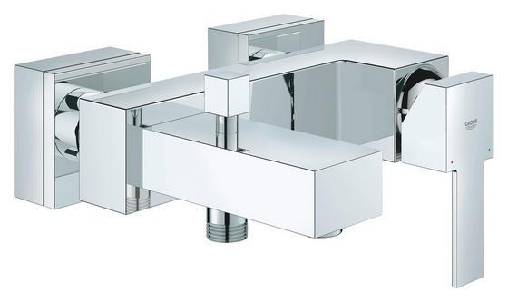 Badewannenarmatur Sail Cube Ehm - Chromfarben, KONVENTIONELL, Metall (18,1cm) - Grohe