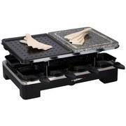 Raclette-Grill Grill Stone - Schwarz, MODERN, Stein (36.7/23.5/14.4cm)