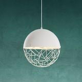 Závesná Lampa Lotta - biela, Moderný, kov (30/120cm) - Modern Living