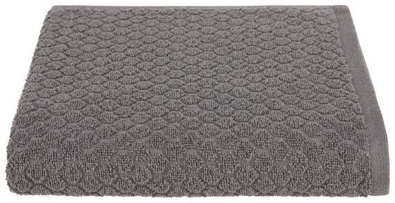 Handtuch Elena - Anthrazit, MODERN, Textil (50/100cm) - Luca Bessoni