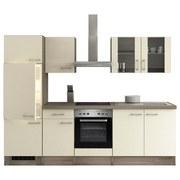 Küchenblock Eico 270 cm Magnolie - Eichefarben/Magnolie, MODERN, Holzwerkstoff (270/60cm) - FlexWell.ai