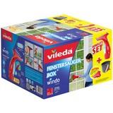 Fenstersauger Vileda Box Windomatic - Rot/Grau, KONVENTIONELL, Karton/Kunststoff (37/23,5/37cm) - VILEDA