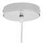 Závesná Lampa Konrad - chrómová, Moderný, kov/plast (30/150cm) - Mömax modern living