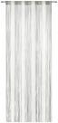 Záclona Provázková String - šedá/bílá, textilie (90/245/cm) - Premium Living