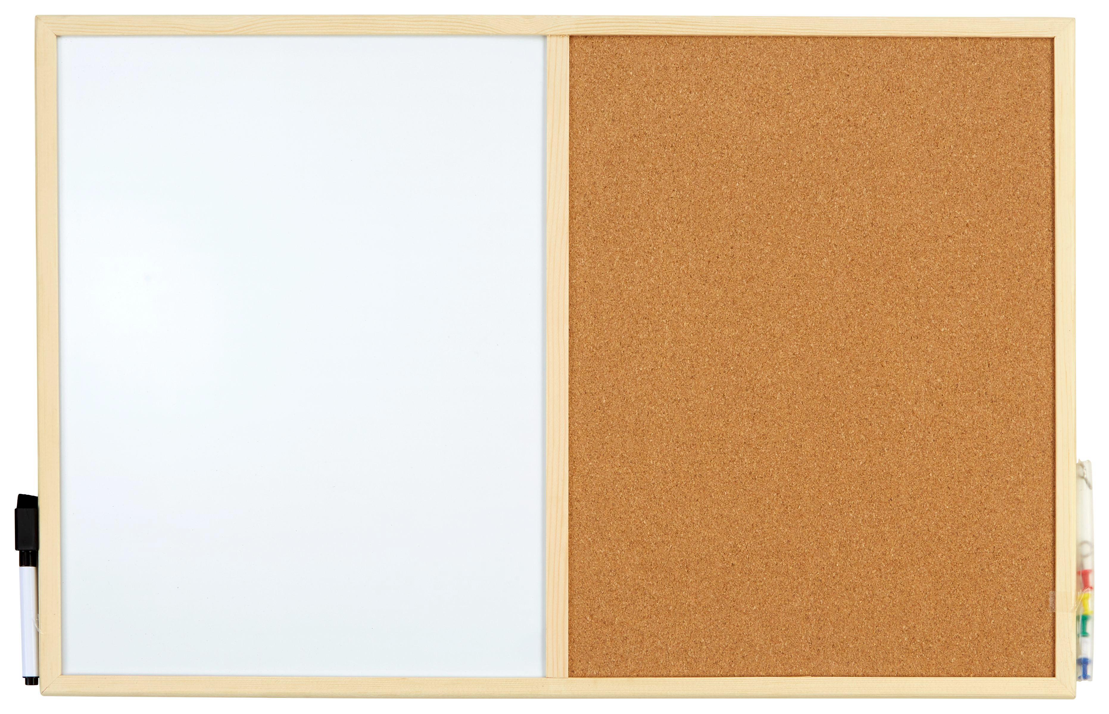 Üzenőtábla 166050 - natúr színek, konvencionális, fa (60/40cm)