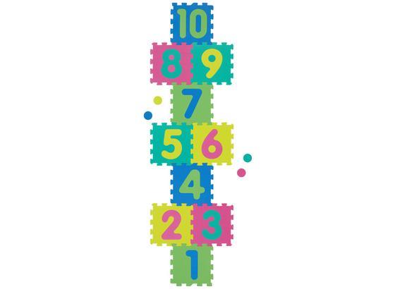Penové Puzzle S Číslami Playmat - viacfarebná, Basics, plast (210/60cm) - Mömax modern living