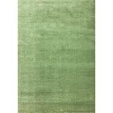 Hochflorteppich Super Soft 140x200 - Grün, MODERN, Textil (140/200cm)