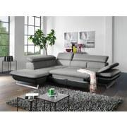 Sedacia Súprava Prestige - čierna/sivá, Moderný, textil (223/265cm)