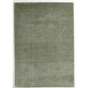 Hochflor Teppich Grün Soft 140x200 cm - Grün, MODERN, Textil (140/200cm)