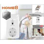 Steckdosenelement Ferngesteuert - Weiß, Design, Kunststoff (3,8/5,8/10,5cm) - Trisa Electronics