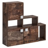 Oberschrank Edia B: 81,5 cm Braun - Braun, MODERN, Holzwerkstoff (81,5/80,0/21,2cm) - MID.YOU