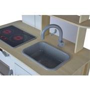 Kinderküche Eh B: 36 cm Multicolor - Multicolor, Basics, Holz (36/69/99,5cm)