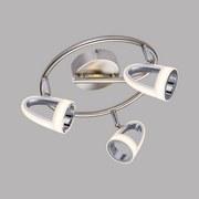 LED-Spotrondel Tara - Chromfarben, Design, Kunststoff/Metall (25/16,5cm)